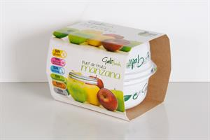 Puré de Manzana Galifresh (pack de2 tarrinas de 150 g unid.)